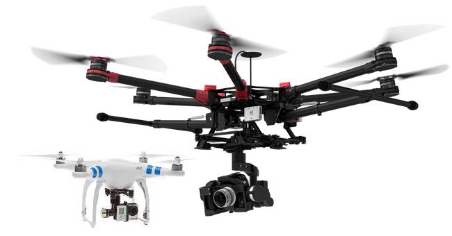 dron filmowanie Robert Gierczak